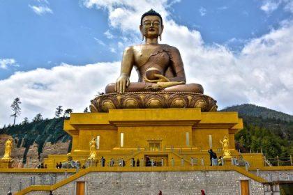 Buddha Dordenma in bhutan trekking holidays