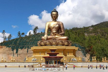 Buddha View Point - attraction for bhutan honeymoon package