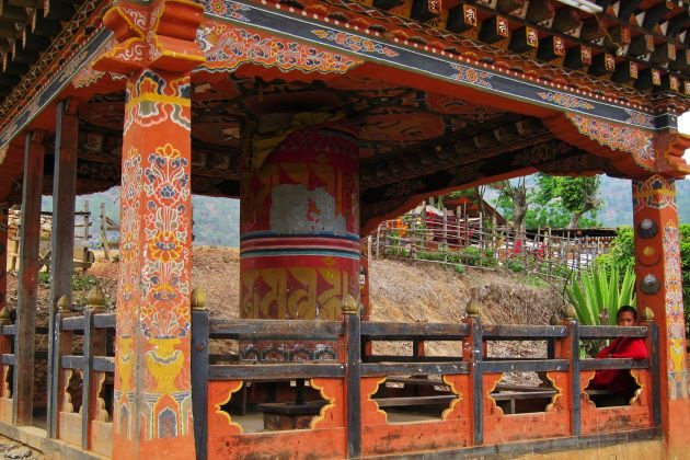 Chimi Lhakhang in bhutan