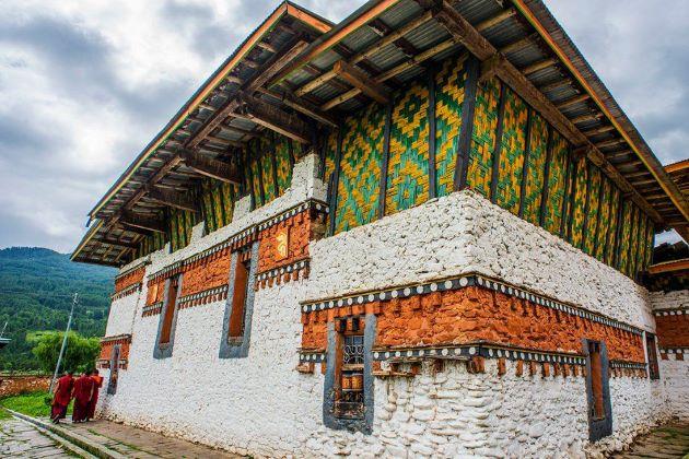 Jambay Lhakhang in bhutan