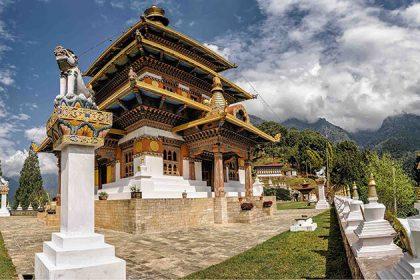 Khamsum Yuelley Namgyrl Buddhist temple Bhutan tours