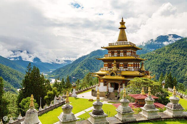 Khamsum-Yulley-Namgyal-Chorten in Bhutan
