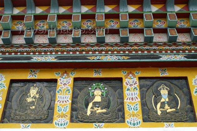National Memorial Chorten in thimphu bhutan