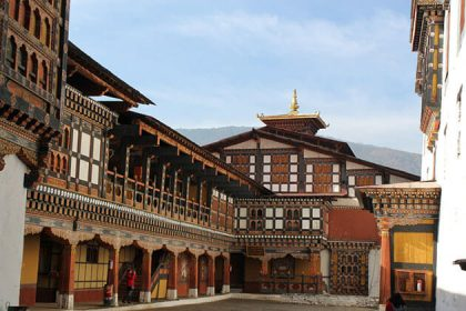 Paro Dzong - attraction for bhutan trekking tour