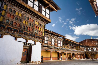 Rimpong Dzong - attraction for bhutan festival tour for indian