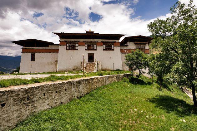 Simtokha Dzong in bhutan
