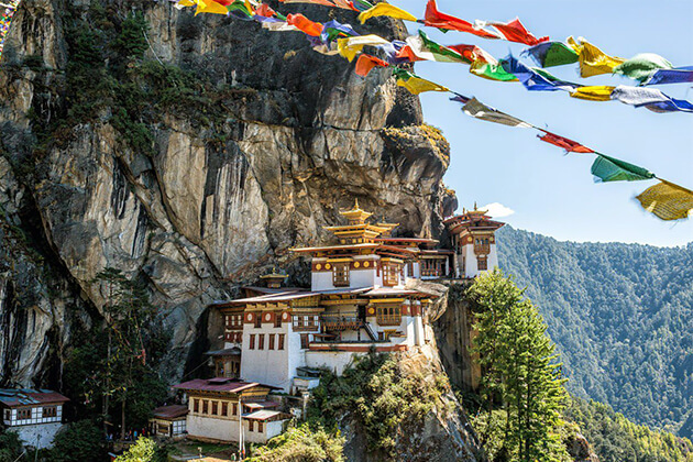Taktsang (Tiger's Nest) best spot to visit in Bhutan package tours