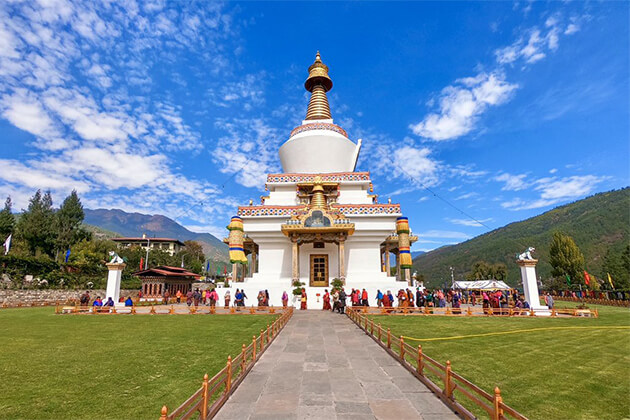 Thimpu is the first place in Bhutan trip packages