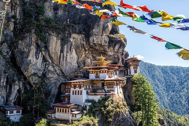 Tiger nest monastery - best spot to explore in bhutan honeymoon package from india