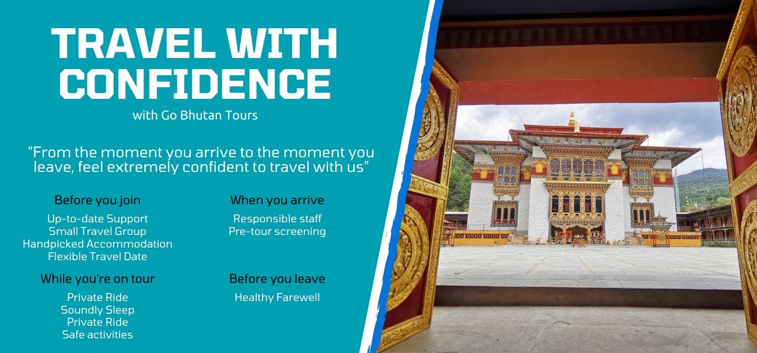 Travel bhutan tours from india with extreme Confidence