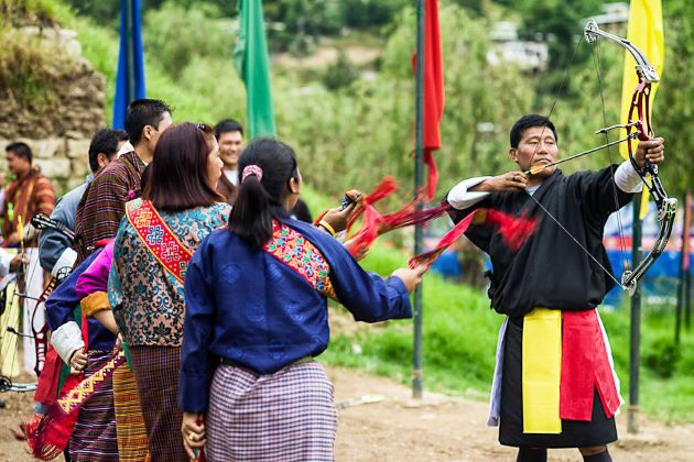 archery the national sport of bhutan