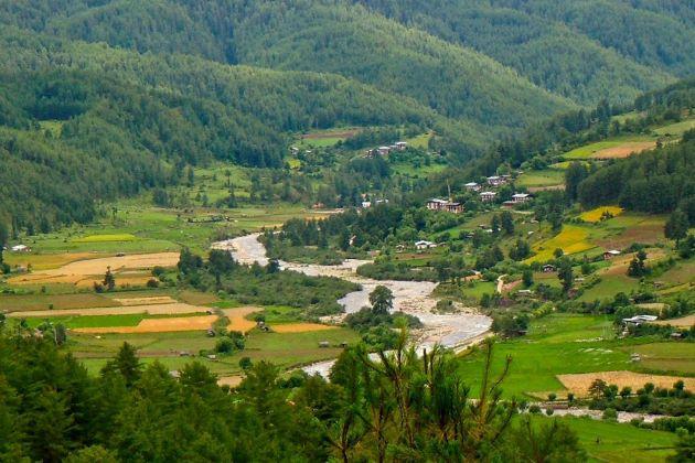 bhumthang in bhutan