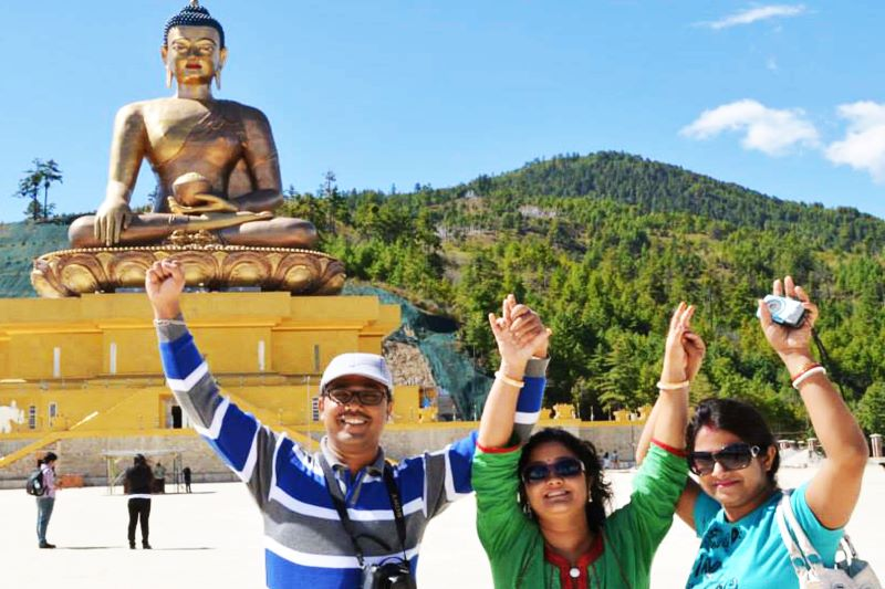 bhutan family package from india