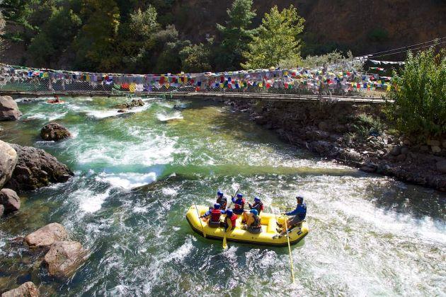 bhutan rafting adventure
