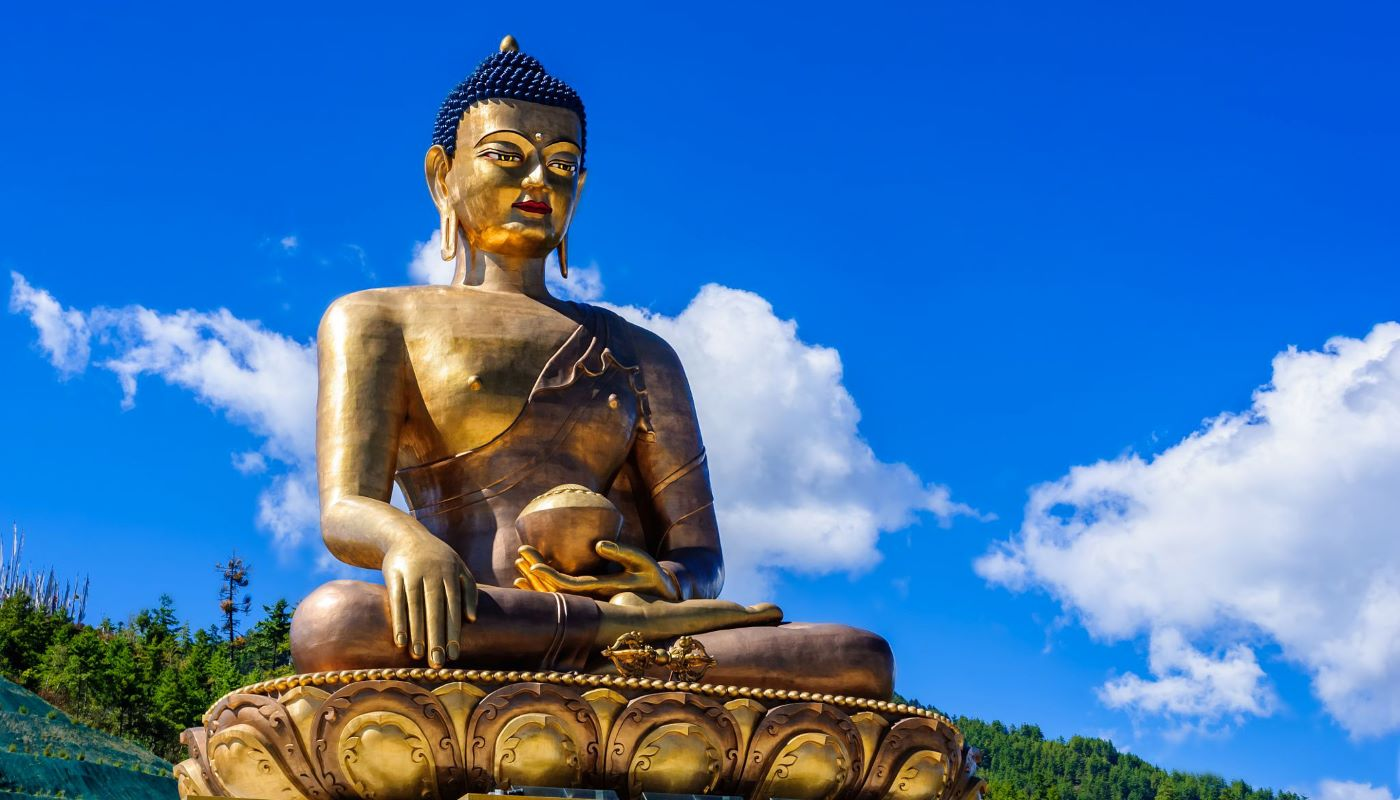 buddhism statue in bhutan holiday packages for indian
