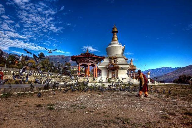 dungtse lhakhang in bhutan