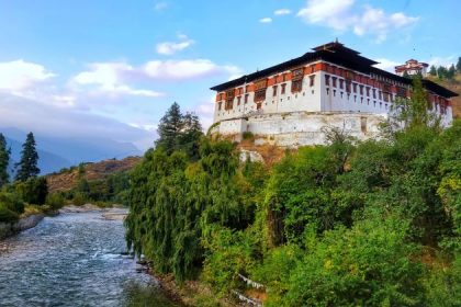 explore Rinpung Dzong in Bhutan culture tour