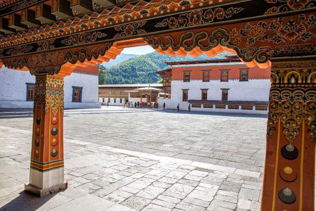 explore Tashichhodzong in Bhutan