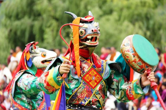 festival bhutan tour packages from india