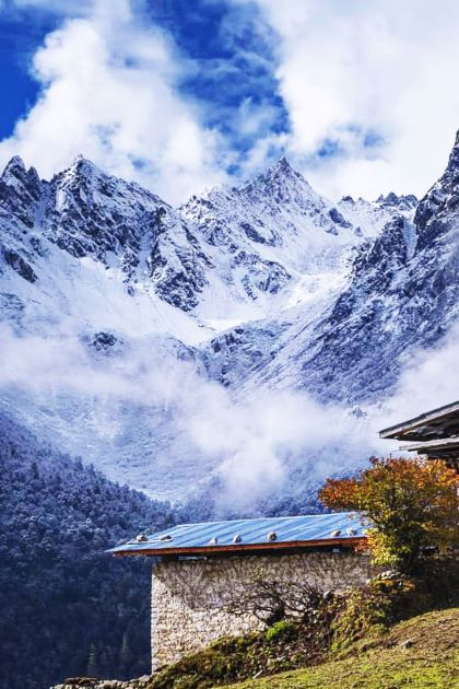 himalayas trekking in bhutan travel packages from India