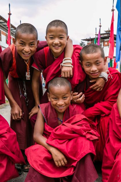 inside happiness in bhutan tours from India