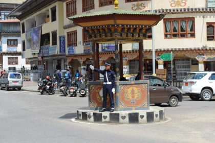police at thimphu bhutan family tour packages