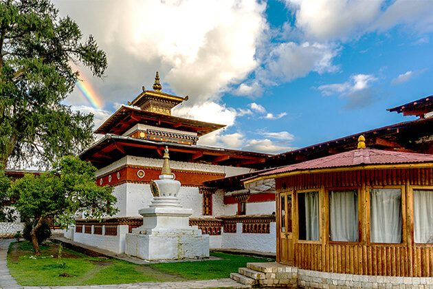 stunning Kyichu Lhakhang a spot for Indian in Bhutan tour