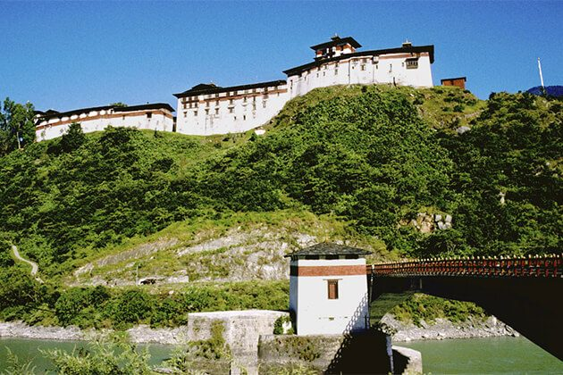 the Valley of Wangdi best place to visit in Bhutan tour packages