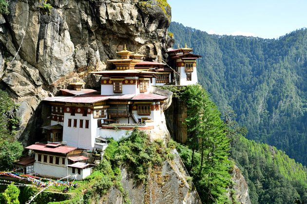 the tiger nest monastery