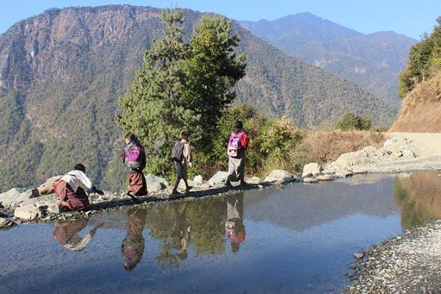 trekking journey in bhutan